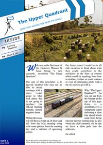 Newsletter cover